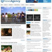 NewsAgency Blogger Templates