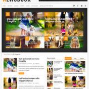 NewsBook Blogger Templates