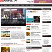 NewsBuzz Blogger Templates