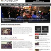 NewsCity Blogger Templates
