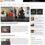 NewsCom Blogger Templates