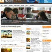 NewsEcho Blogger Templates
