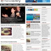 NewsEntry Blogger Templates