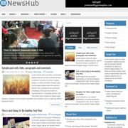 NewsHub Blogger Templates