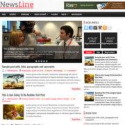 NewsLine Blogger Templates