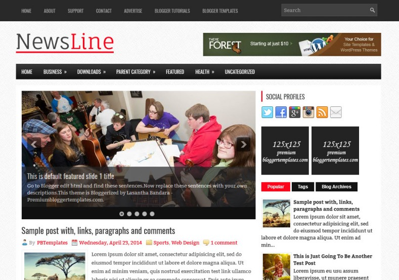 NewsLine Blogger Template. Blogger Themes. Best suitable for news blog templates. Ads ready blogspot templates help for add adsense ad code and easily showing adsence ads in your blog. Adapted from WordPress templates are converted from WordPress themes. It is help for take your rich. Blogger magazine template specially designed for magazine blogs. The writers can utilize this themes for take blog attractive to users. Elegant themes are more used themes in most of the blogs. Minimalist blog templates. Free premium blogger themes means, themes authors release two types of themes. One is premium another one is free. Premium templates given for cost but free themes given for no cost. You no need pay From California, USA. $10 USD, or $20 USD and more. But premium buyers get more facilities from authors But free buyers. If you run game or other animation oriented blogs, and you can try with Anime blog templates. Today the world is fashion world. So girls involve to the criteria for make their life fashionable. So we provide fashion blogger themes for make your fashionable. News is most important concept of the world. Download news blogger templates for publishing online news. You can make your blog as online shopping store. Get Online shopping store blogger template to sell your product. Navigation is most important to users find correct place. Download drop down menu, page navigation menu, breadcrumb navigation menu and vertical dropdown menu blogspot themes for free. Google Guide. Blogging tips and Tricks for bloggers. Google bloggers can get blogspot trick and tips for bloggers. Blog templates portfolio professional blogspot themes, You can store your life moments with your blogs with personal pages templates. Video and movie blogs owners get amazing movie blog themes for their blogs. Business templates download. We publish blogger themes for photographers. Photographers easily share photos via photography blog themes. St valentine Christmas Halloween templates. Download Slideshow slider templates for free. Under construction coming soon custom blogspot template. Best beautiful high quality Custom layouts Blog templates from templateism, SoraTemplates, templatetrackers, simple, cute free premium professional unique designs blog themes blogspot themes. Seo ready portfolio anime fashion movie movies health custom layouts best download blogspot themes simple cute free premium professional unique designs xml html code html5.