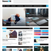 NewsOn Blogger Templates