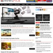 NewsPick Blogger Templates