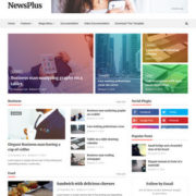 NewsPlus Blogger Templates