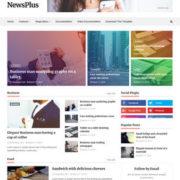 NewsPlus Blogger Templates