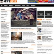 NewsSeven Blogger Templates