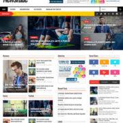 NewsTube Blog Templates
