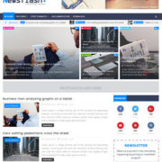 Newsflash Blogger Templates