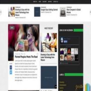 Newsline 3 Columns Blogger Templates