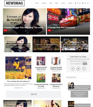 newsmag-blogger-templates