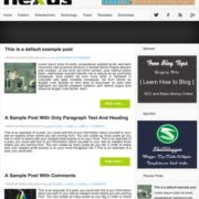 Nexus Blogger Templates