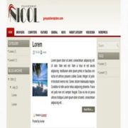 Nicol Blogger Templates