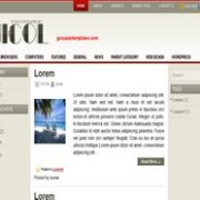 Nicol blogger template