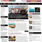 NovaNews Blogger Templates