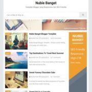 Nubie Banget Blogger Templates