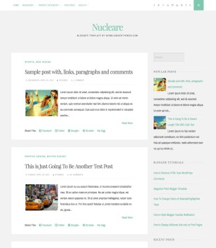 Nucleare Blogger Templates