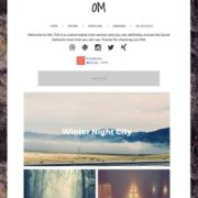 OM Responsive Blogger Templates