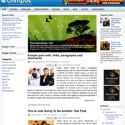 Olimpus Blogger Templates