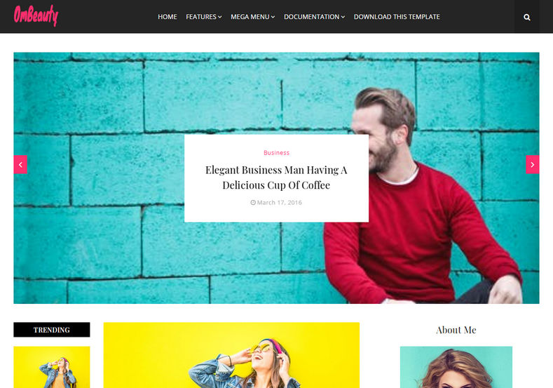 OmBeauty Blogger Template is a minimalist blogging theme. with sleek appearance and Loaded with various widgets, and latest SEO friendly elements.