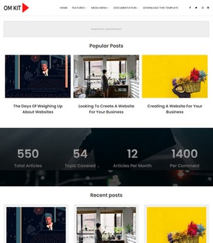 OmKit Blogger Templates