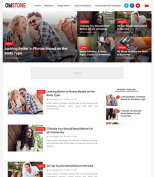 OmStone Blogger Templates