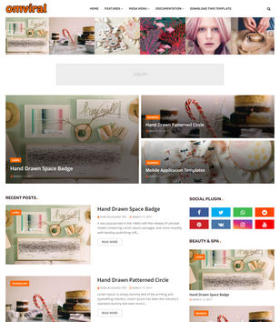 OmViral Blogger Templates