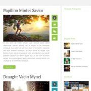 Opal Blogger Templates