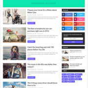 Optima Blogger Templates