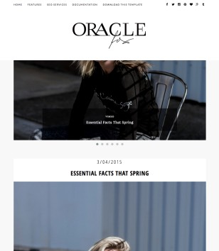 Oracle Blogger Templates