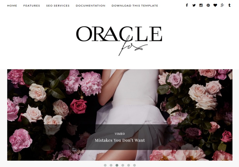 Oracle Blogger Template. Best fashion blogger templates for girls and fashion designers download free. Oracle Blogger Template.