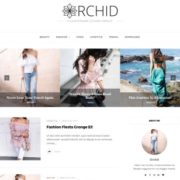 Orchid Fashion Blogger-Templates