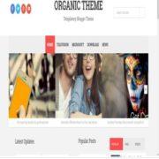 Organic Blogger Templates