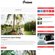 Oriana Blogger Templates