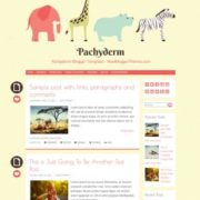 Pachyderm Blogger Templates
