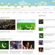 Pakistani Magazine Blogger Template