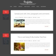 Perfetta Responsive Blogger Templates