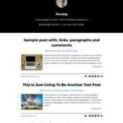 Perslog Blogger Templates