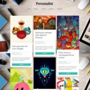Personalist Responsive Blogger Templates