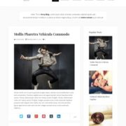 Persy Responsive Blogger Templates