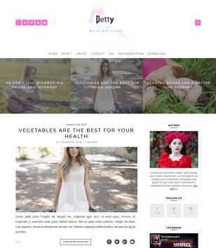 Petty Blogger Templates