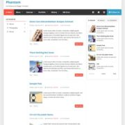 Phantom Blogger Templates