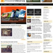 PhoneWorld Blogger Templates