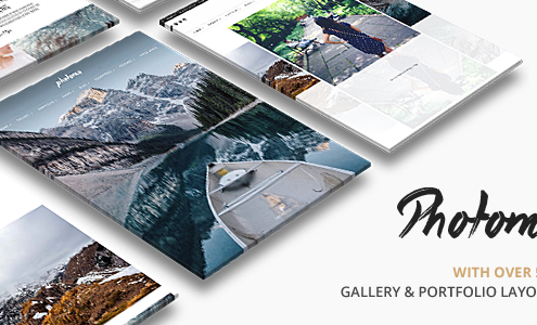 Photo Me Photo Gallery Photography Theme