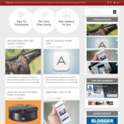 PickPress Responsive Blogger Templates