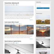 Picsalad Responsive Blogger Templates